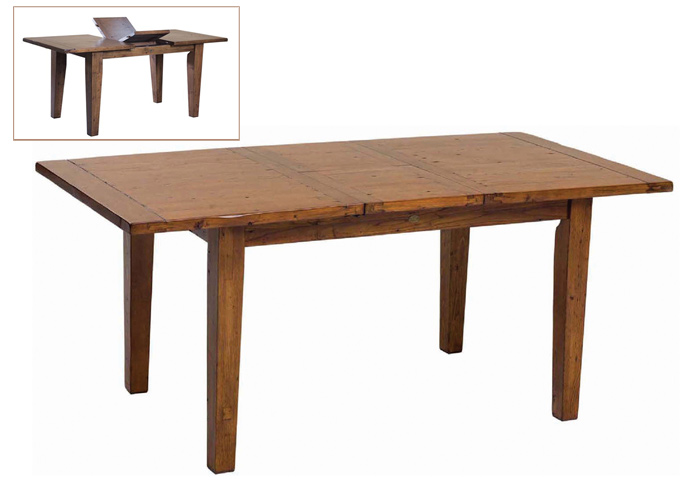 Irish Coast African Dusk Small Dining Table with extension